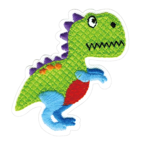 23027 パイオニアワッペンシリーズ「恐竜」<br>園グッズ・スクールグッズのデコに最適