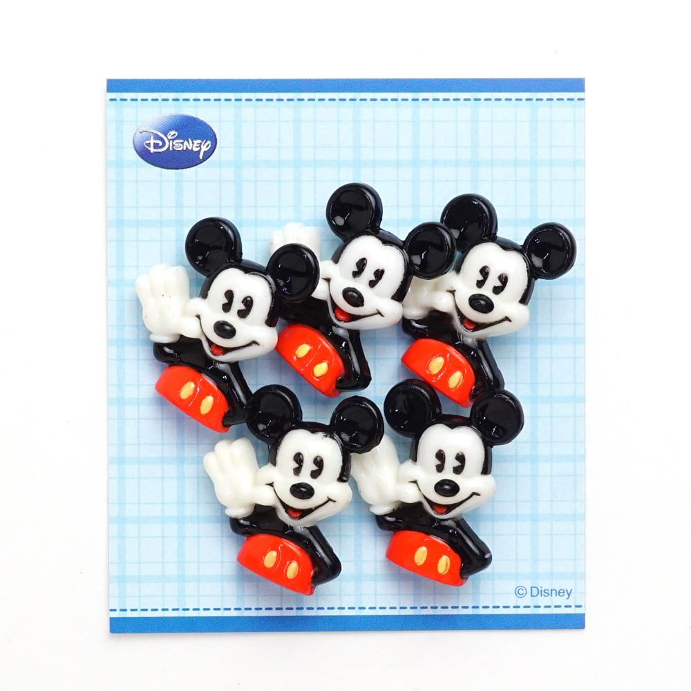 DI84 ・DISNEY「ミッキーマウス」ボタン5個入り