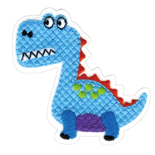 23029 パイオニアワッペンシリーズ「恐竜」<br>園グッズ・スクールグッズのデコに最適