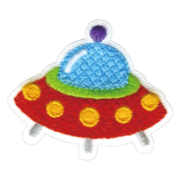23034 パイオニアワッペンシリーズ「UFO」<br>園グッズ・スクールグッズのデコに最適