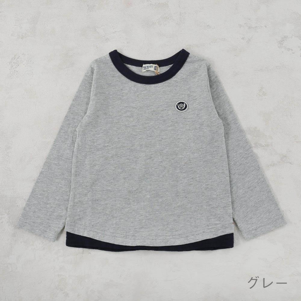 レイヤード風Tシャツ