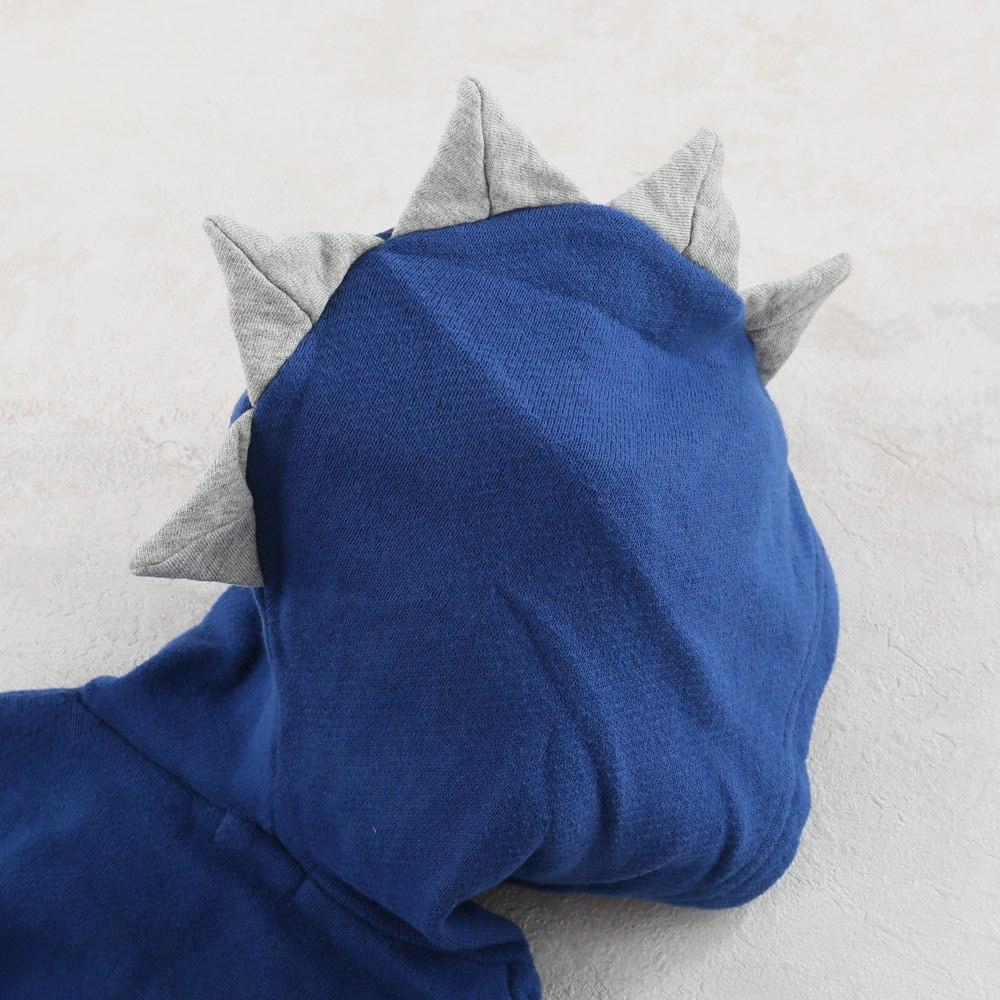 【セール】恐竜モチーフジップアップパーカー