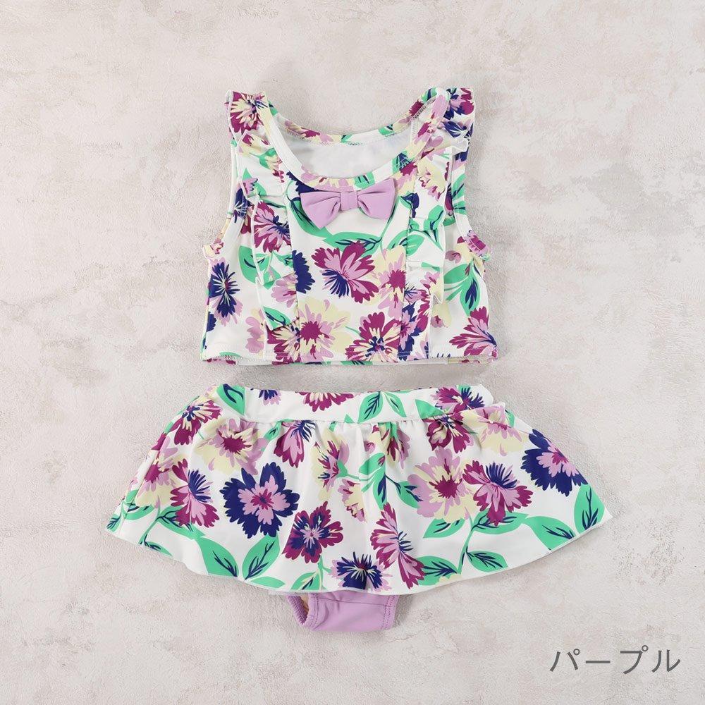 【セール】セパレート水着 花柄