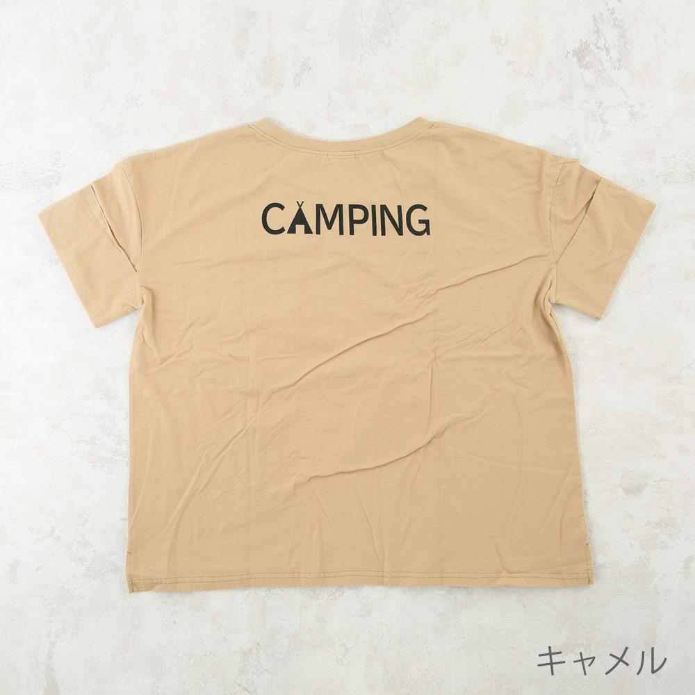 キャンプ Tシャツ ママ