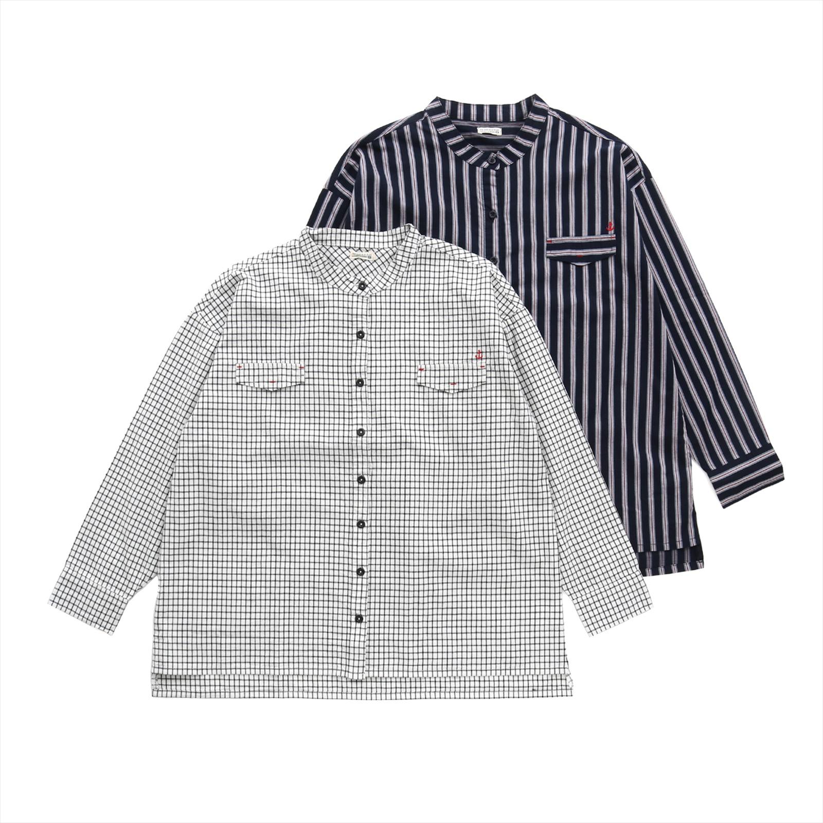 バンドカラーシャツ(ママサイズ)