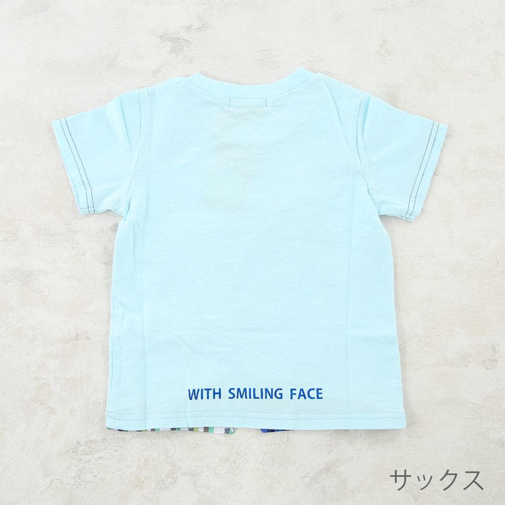 プリントTシャツ マンタ