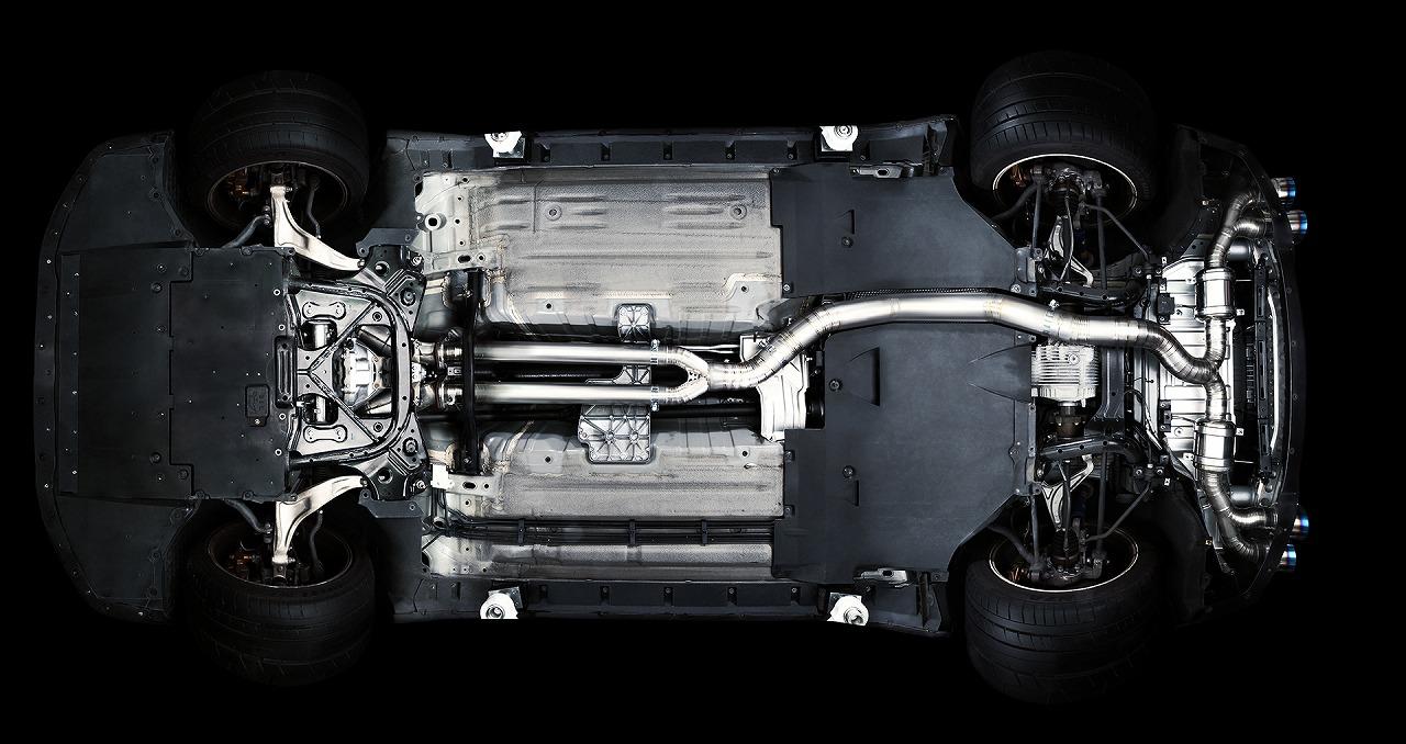 R.S.E フルチタンエキゾーストコンポーネント  日産 R35 GTR VR38 RB6070-NS01A