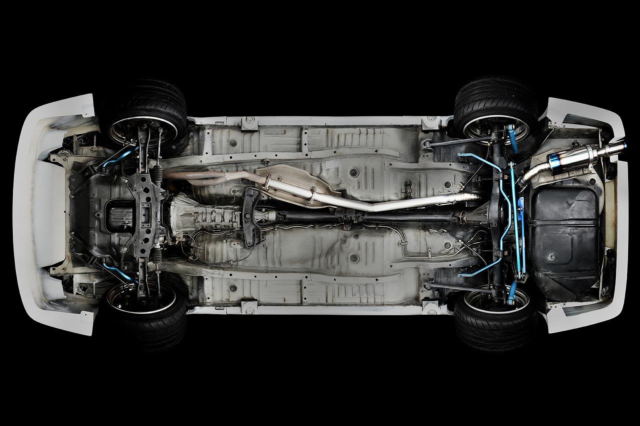 R.S.E フルチタンマフラー  トヨタ AE86 レビン/トレノ 4AG Type R RB6090-TY01A
