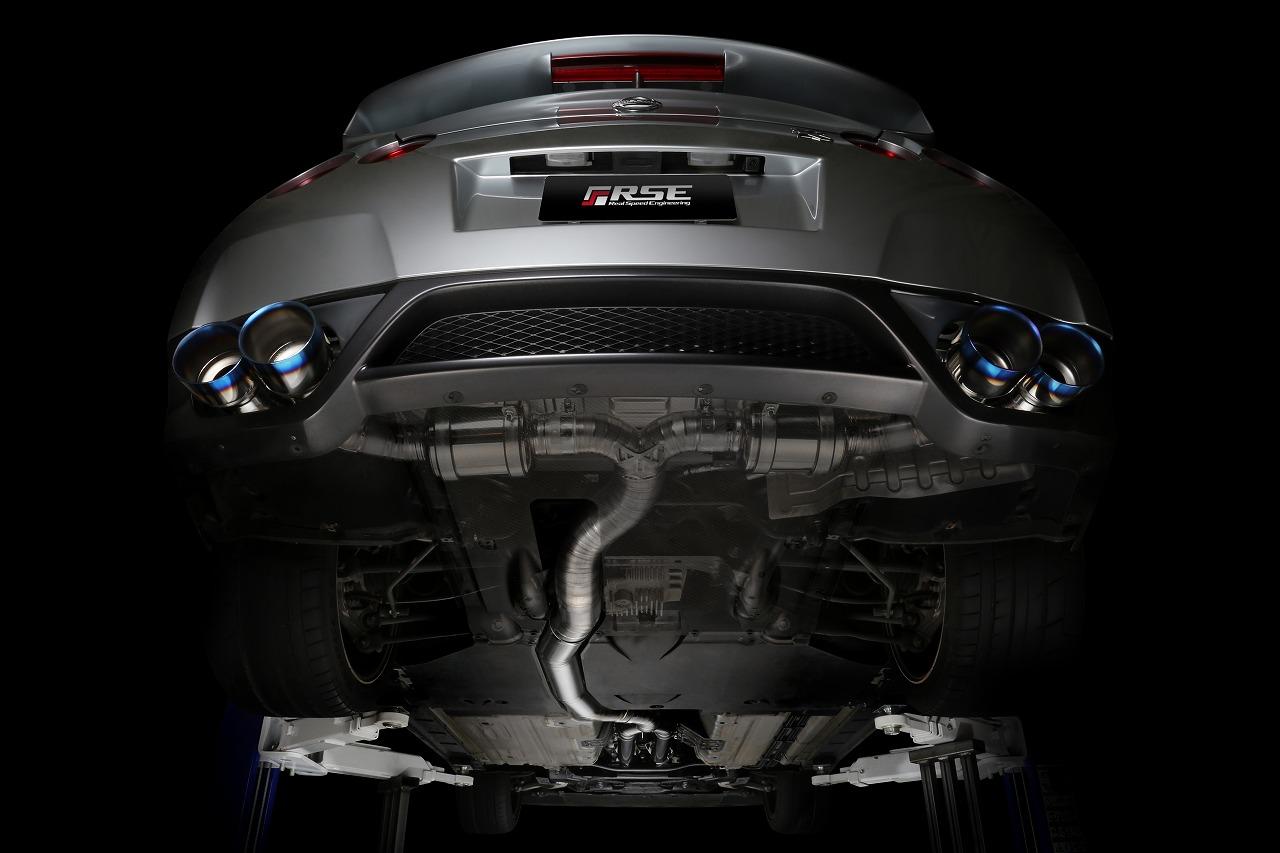 フルチタンエキゾーストシステム GT-R R35