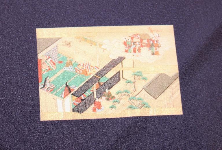 竹取物語絵巻風呂敷