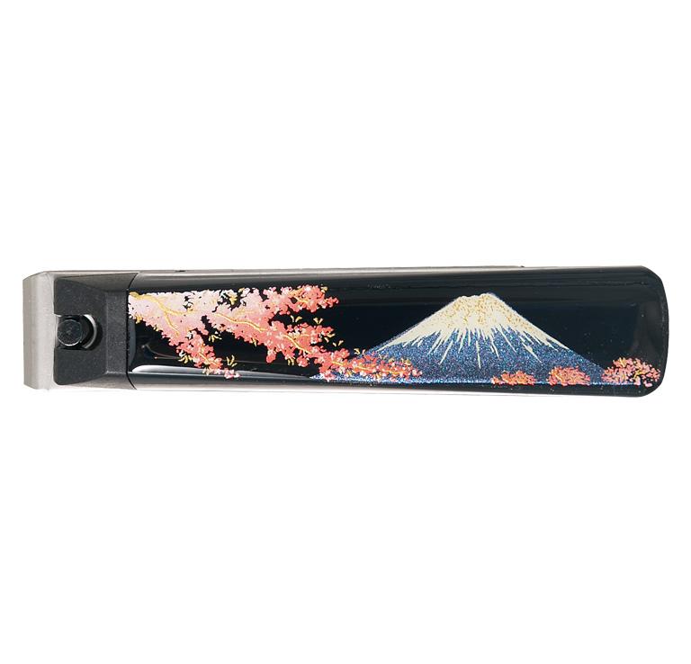 蒔絵 爪切り(富士と桜)