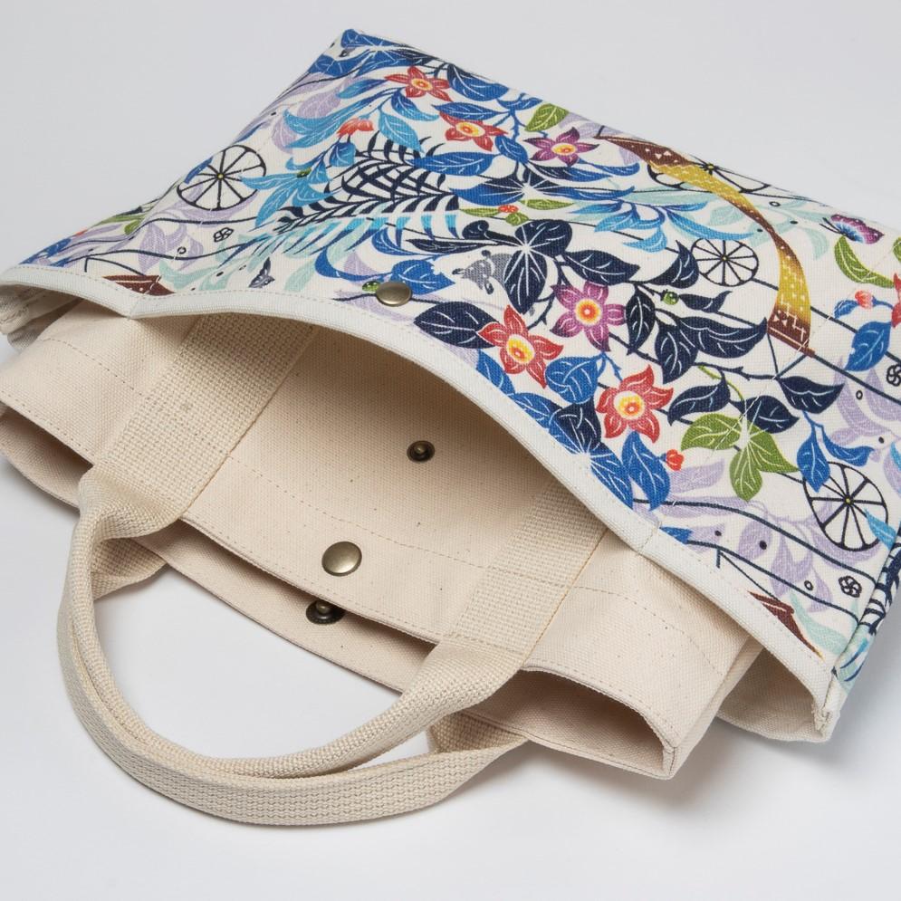 Morioさんのお散歩バッグ/きらきらシークヮーサー