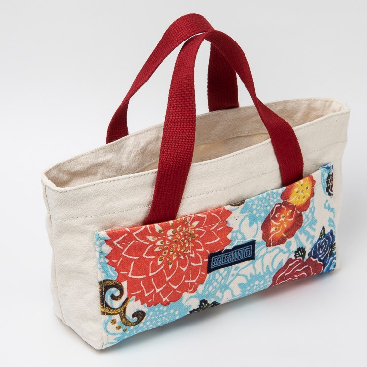 優香さんのバッグインバッグ/ブルー