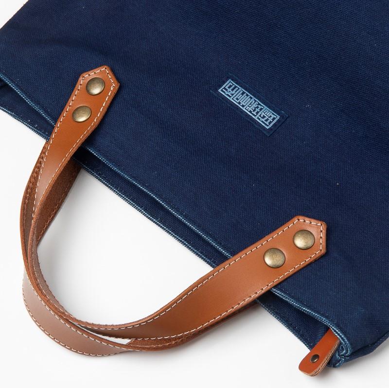 琉球藍染おでかけバッグ
