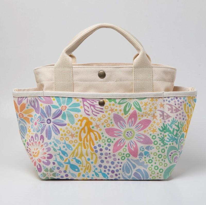ポッケさんのお散歩バッグ / 珊瑚の花畑