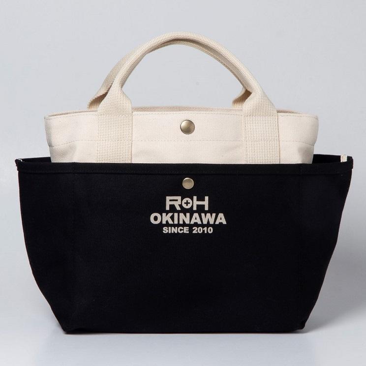 お散歩バッグ/ブラック(ロゴ有り)