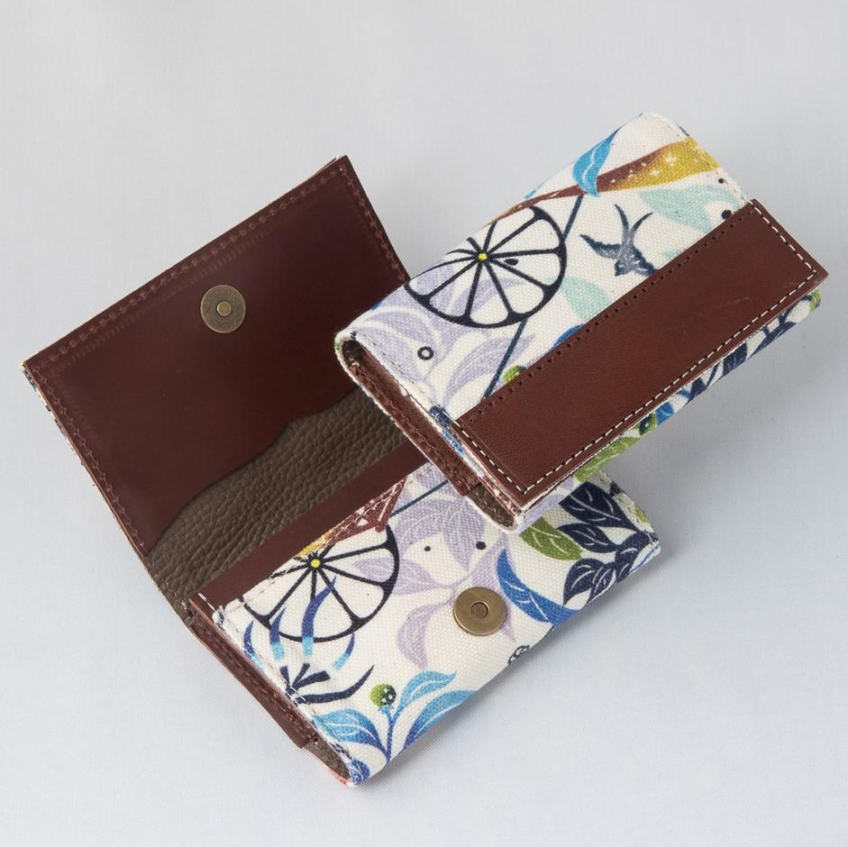 Morioさんの名刺ケース/きらきらシークヮーサー
