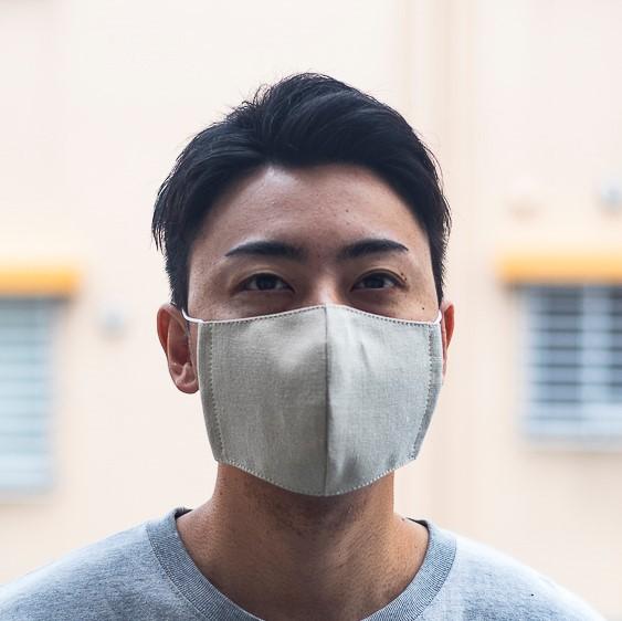 ファッションマスク リネン