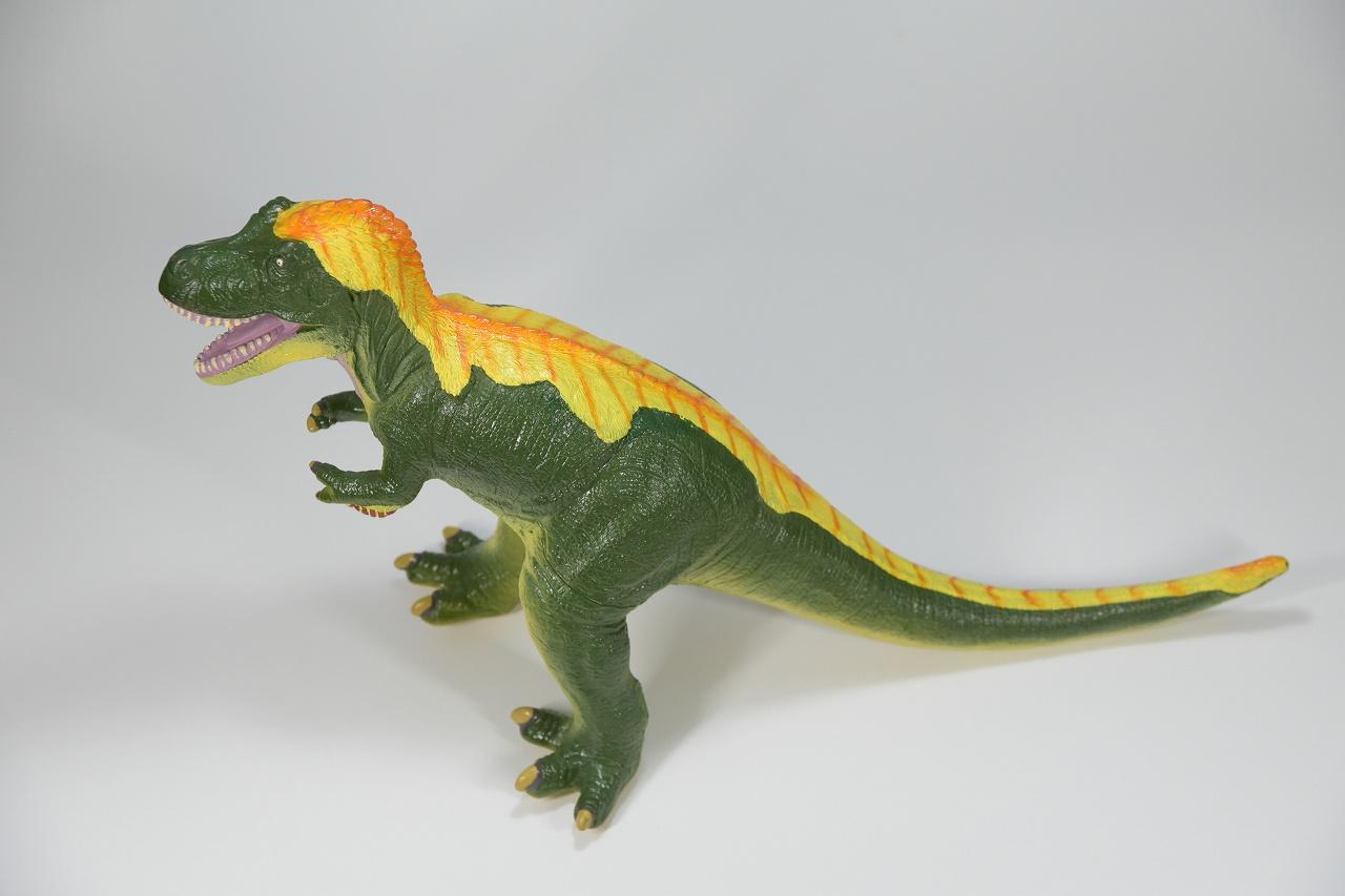 【Favorite】羽毛ティラノサウルス グリーン ビニールモデル