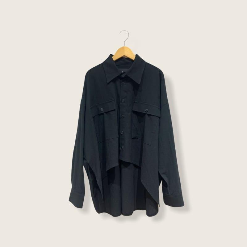 アシンメトリーシャツ