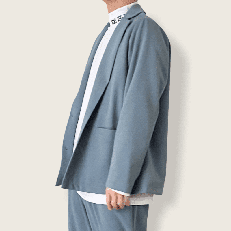 ワイドシルエットジャケット