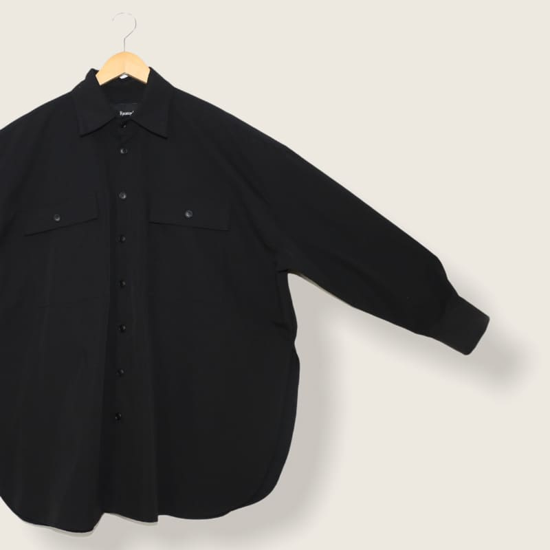 オーバーワイドシャツ