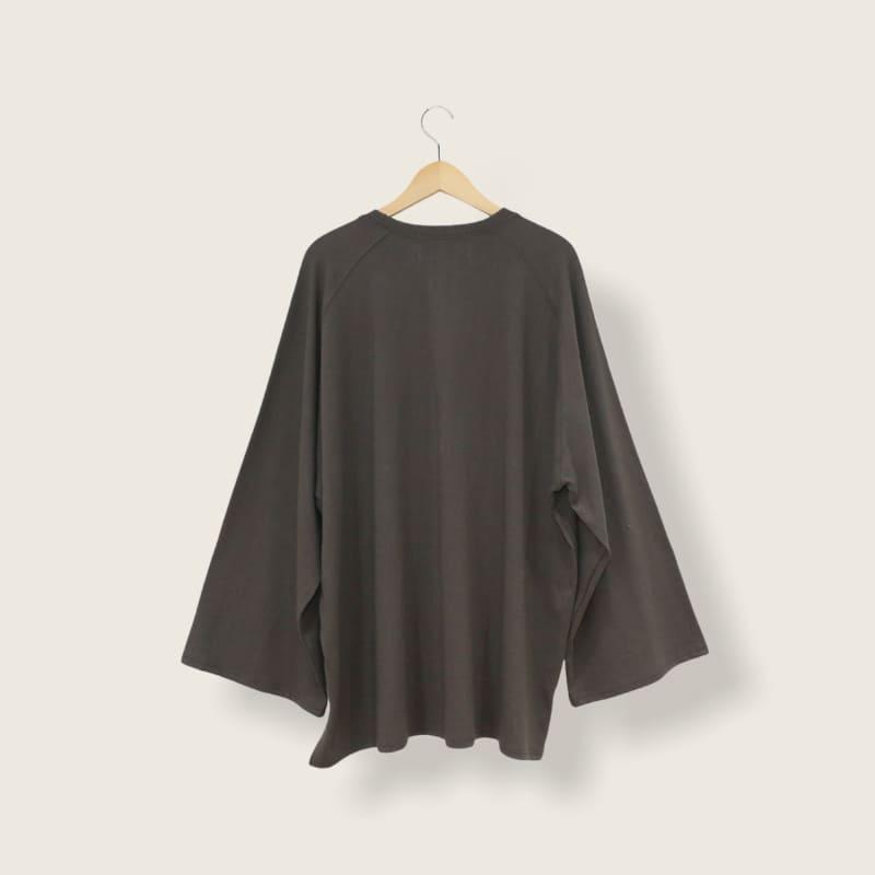 着物袖ロングTシャツ