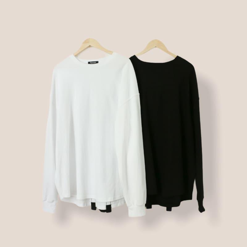 バックプリントオーバーサイズロングTシャツ