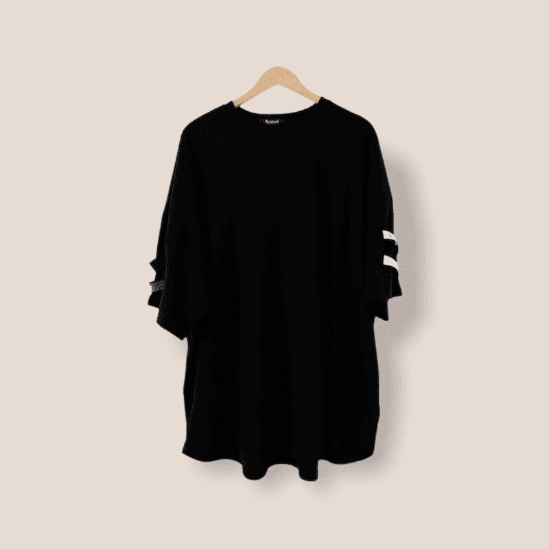 GVTYウェビンング半袖Tシャツ