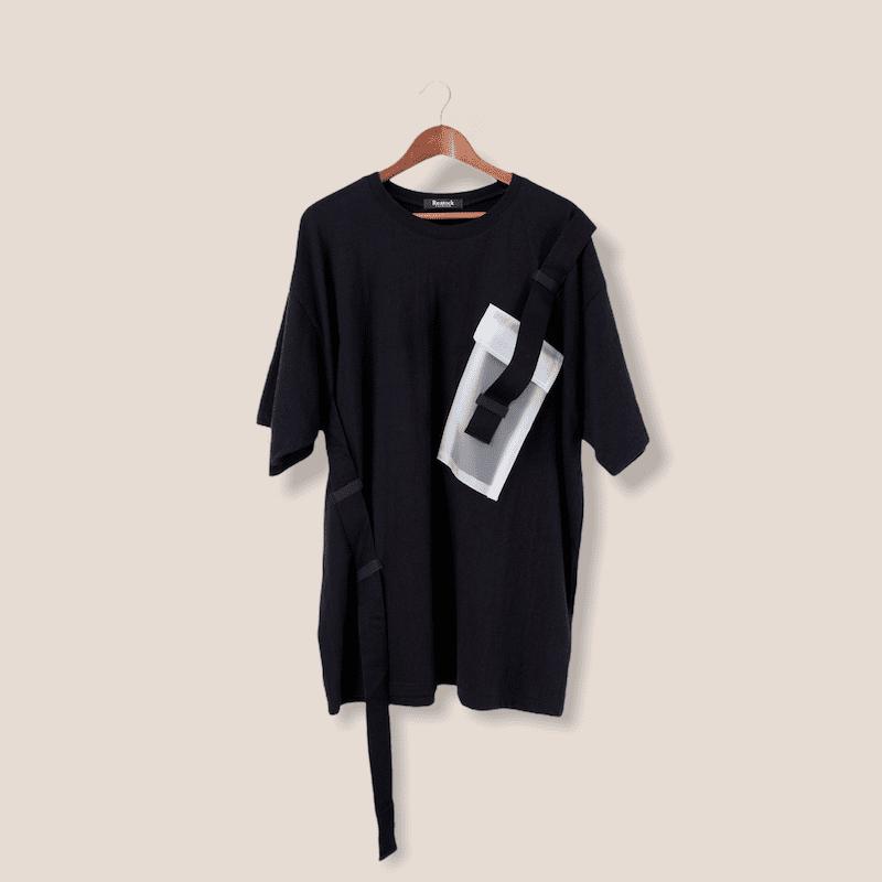 ウェビングポケットTシャツ