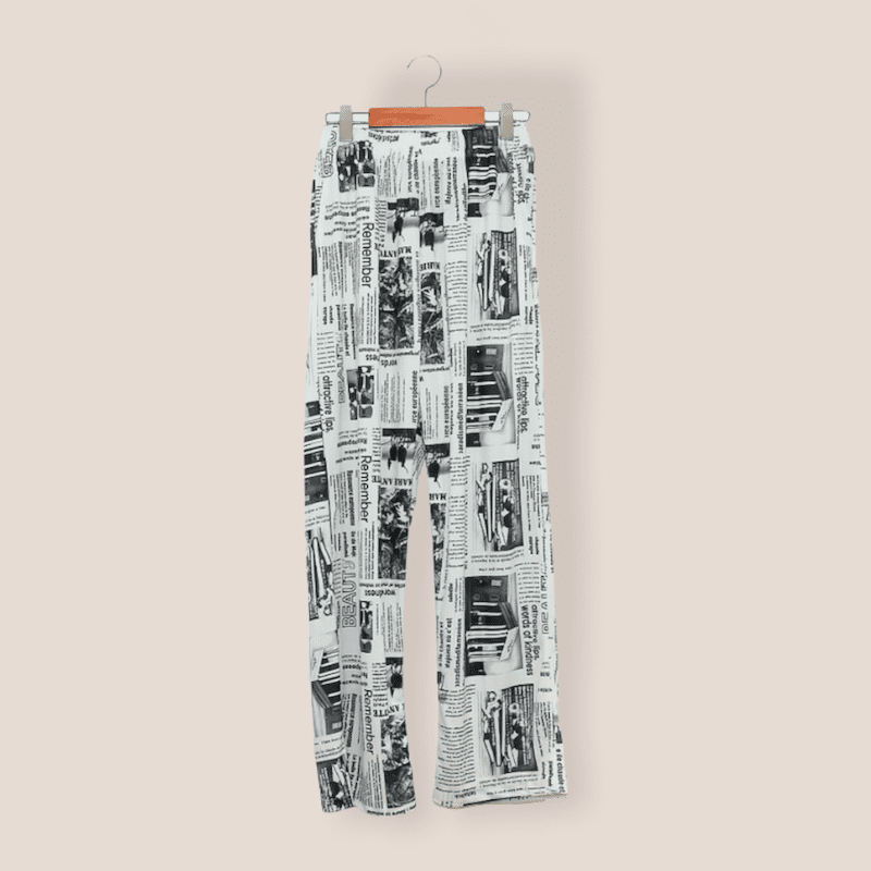 NewsPeper Pants