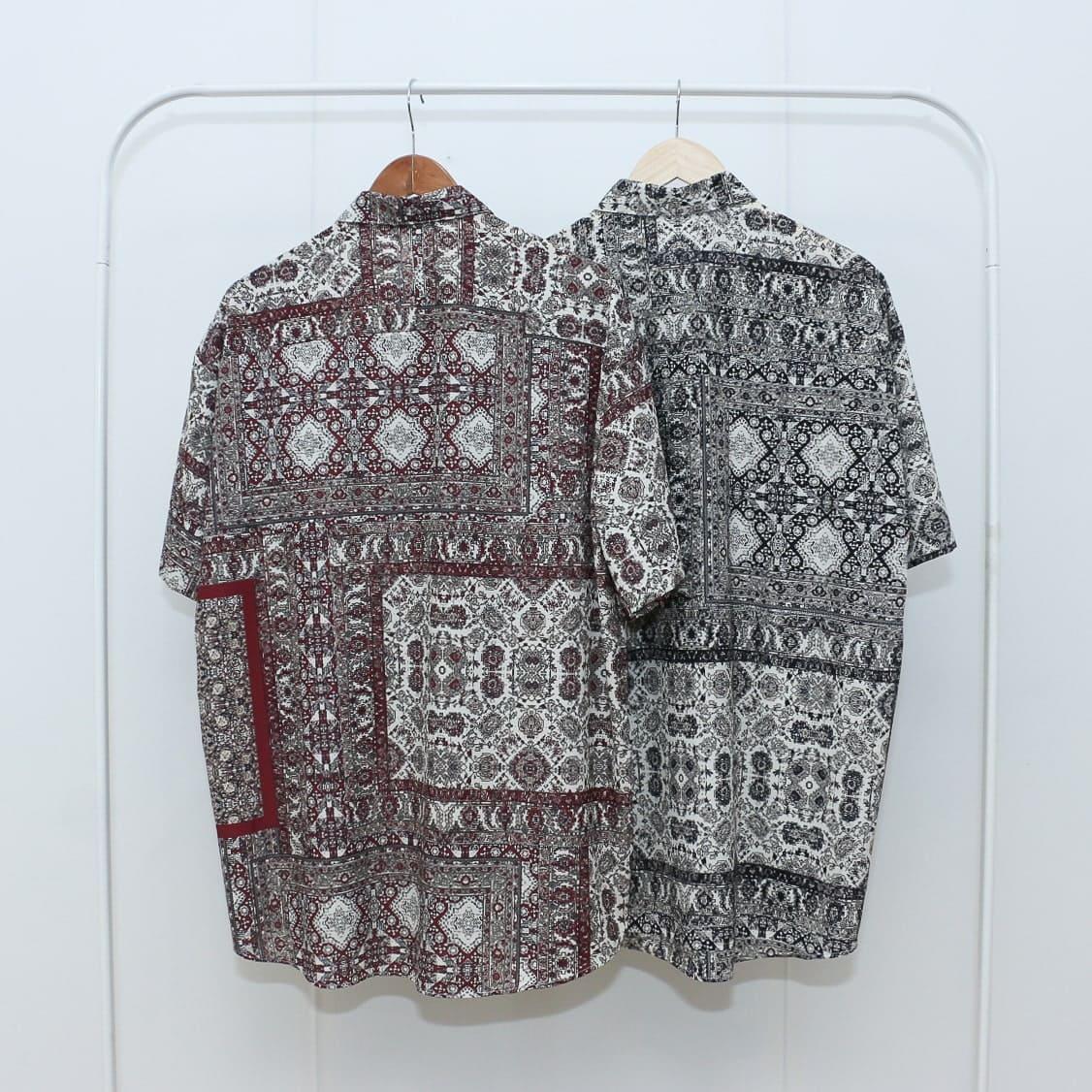 ペルシャ絨毯半袖シャツ