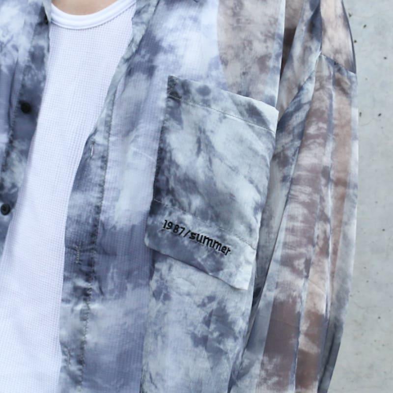 シースルーストーンシャツ