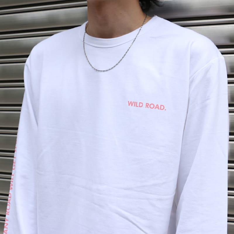 ロングTシャツWILD ROAD