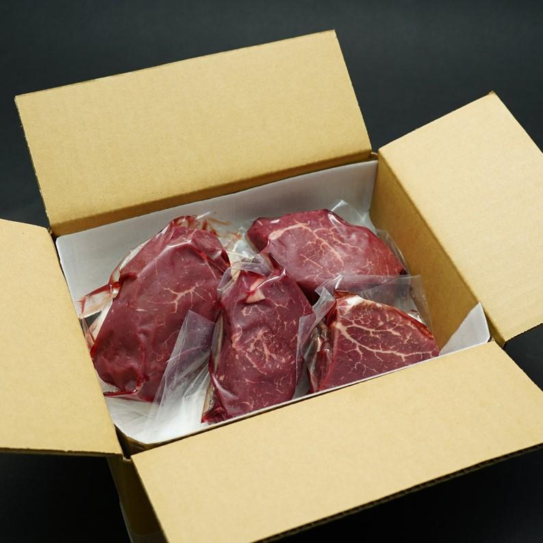 完全放牧 牧草牛(NZ育ち)フィレ ステーキ用 200g×4枚