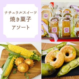 【冷凍でお届け】ナチュラルスイーツ 焼き菓子アソート(夏)