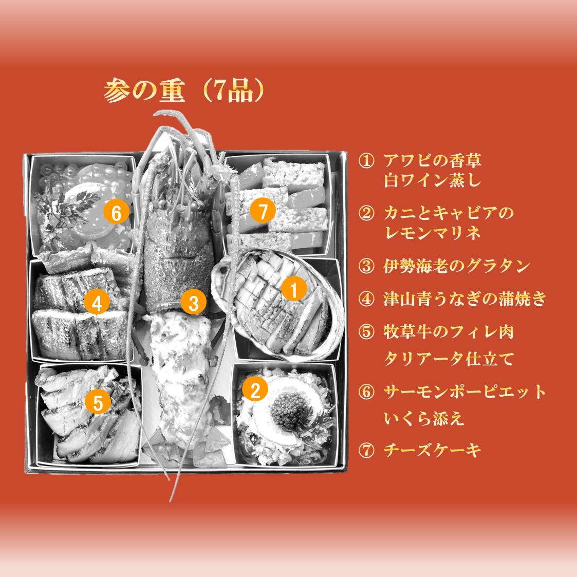 ★早期予約3,000円引★低糖質おせち三段重 『煌』 送料無料