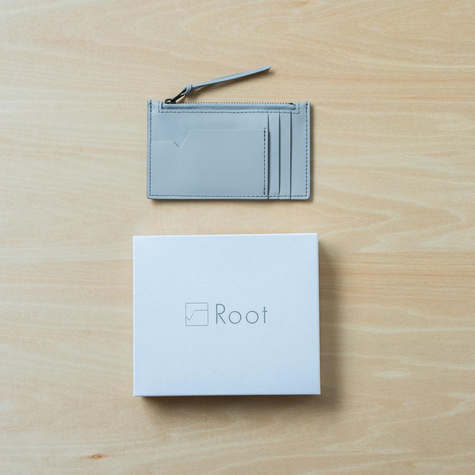 Root <UNISEX>Fragment case(本革フラグメントケース)