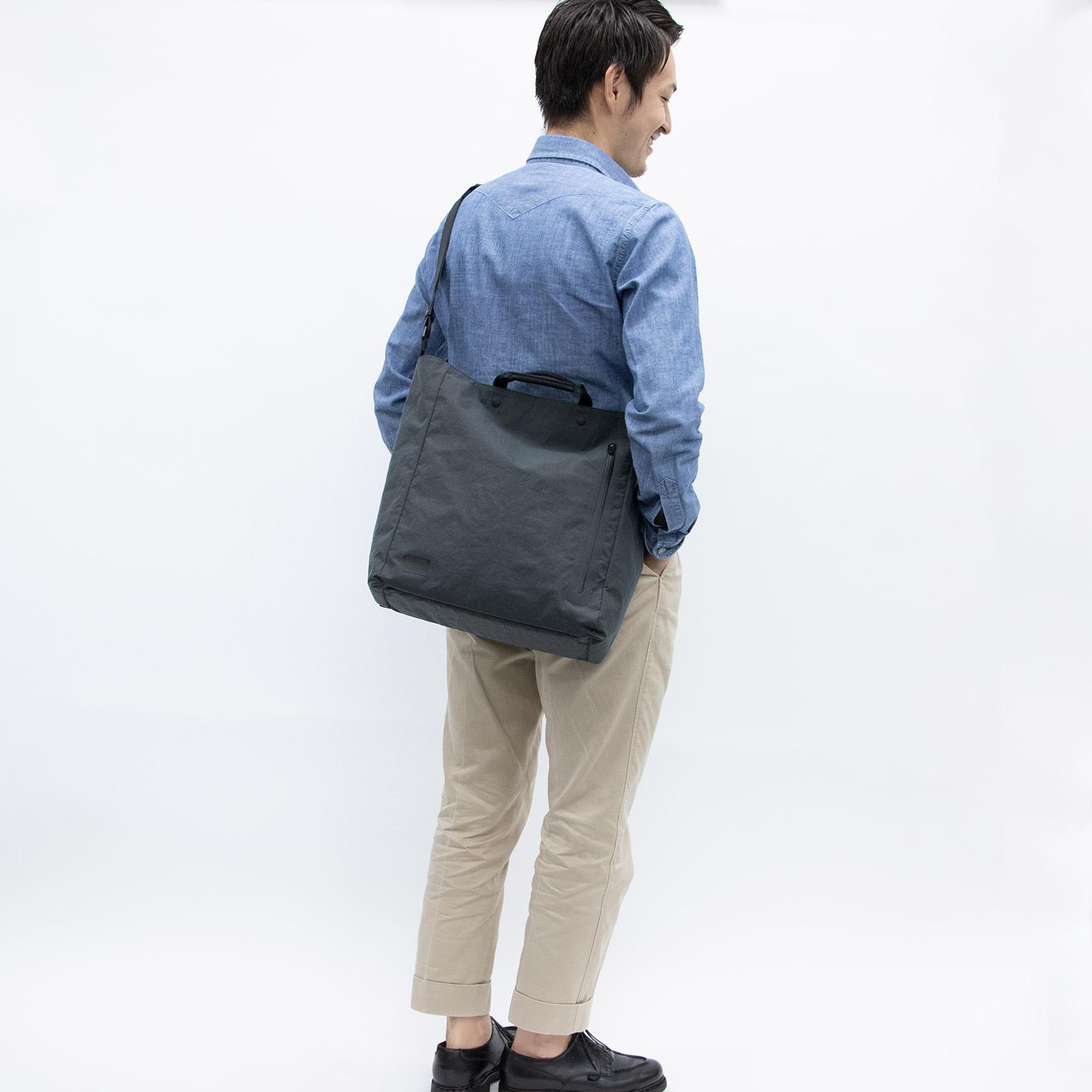 Root <UNISEX>Shoulderbag(コンブナイロンショルダーバッグ) BOXトートkonbu