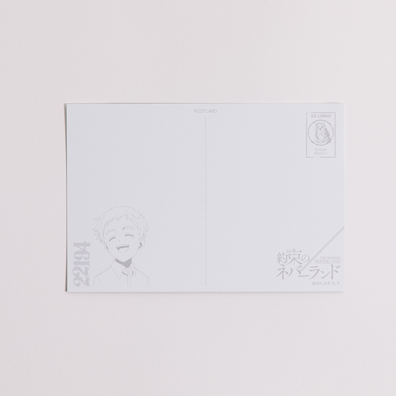 ポストカード幼少ノーマン