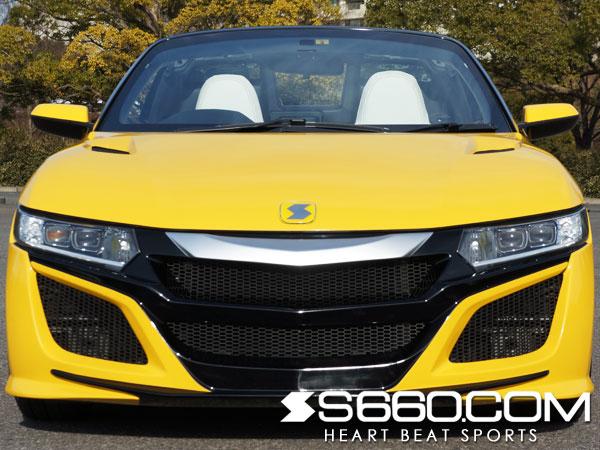 S660.COM SPIDER S660(JW5) フロントバンパー【塗装済/3COLOR】