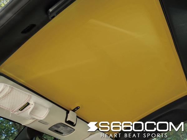 S660.COM SPIDER S660(JW5) カラードハードトップ ver.F【塗装済(カーニバルイエロー�)】 ハードトップ