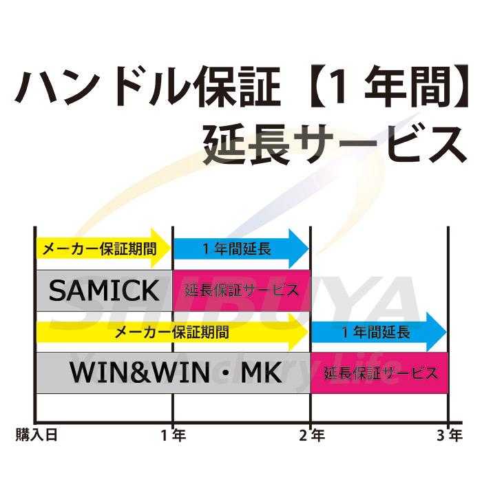 ハンドル保証期間1年間延長サービス【SWP:シブヤワランティプログラム】