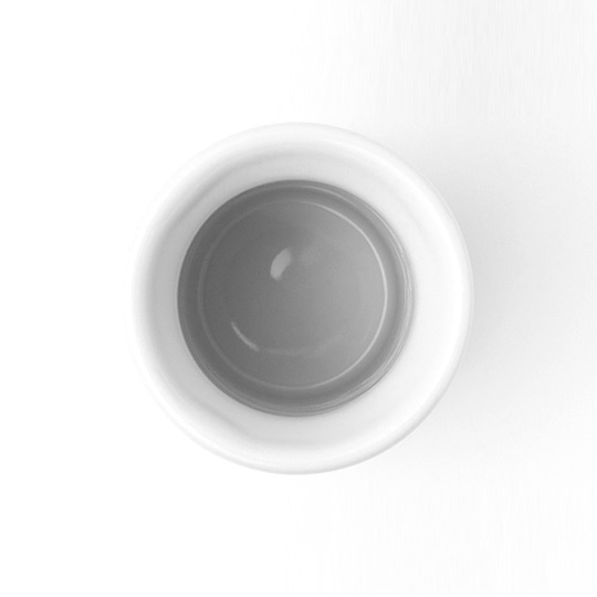 IKKON ぐい呑み STRAIGHT(白釉)