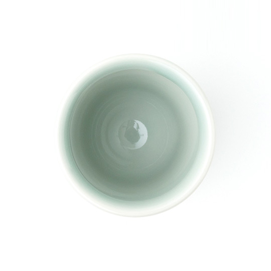 IKKON ぐい呑み ROUND(緑釉)