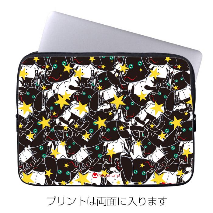 8インチ ノートPC・タブレットケース Moisture「Doggy Star」