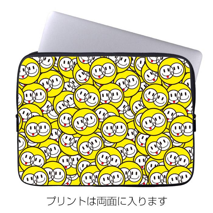 10インチ ノートPC・タブレットケース Moisture「SMILE DOT 2」