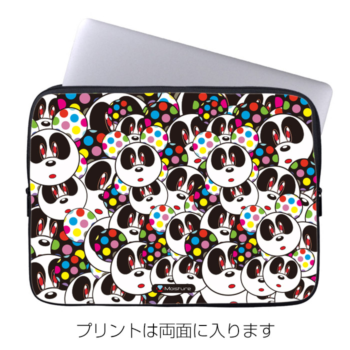 10インチ ノートPC・タブレットケース Moisture「Panda Face」