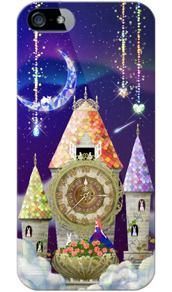 uistore「magical clock tower」 / for  iPhone 5/SoftBank