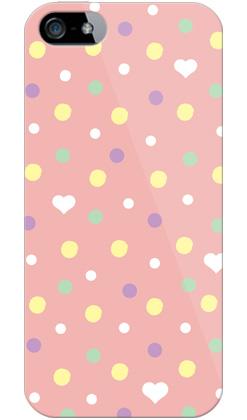 uistore「Dot (BabyPink)」 / for  iPhone 5/SoftBank